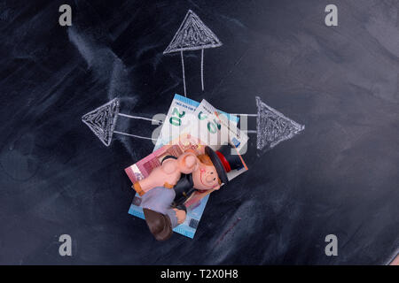 Good luck in money matters - Stock Photo