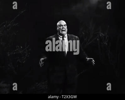 Tor Johnson in Plan 9 from Outer Space by Ed Wood - Stock Photo