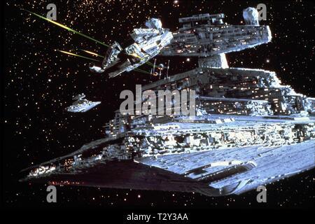 STAR DESTROYER, STAR WARS: EPISODE V - THE EMPIRE STRIKES BACK, 1980 - Stock Photo