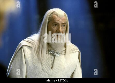 SIR IAN MCKELLEN, THE LORD OF THE RINGS: THE RETURN OF THE KING, 2003 - Stock Photo