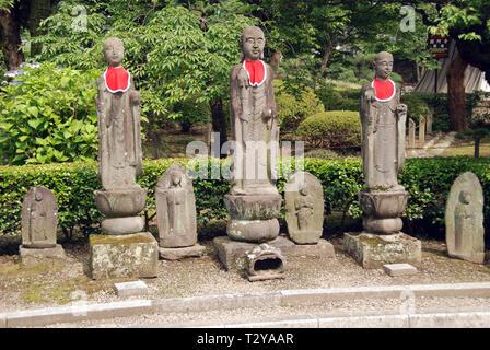 Shrine in the Ashikaga gakko in Japan - Stock Photo