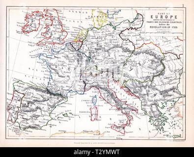 Napoleonic War in Europe Battle - Stock Photo