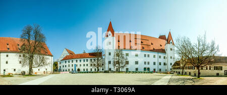 New Castle in Ingolstadt, Germany - Stock Photo