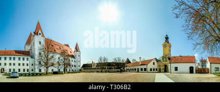 New Castle in Ingolstadt, Germany - Stock Photo