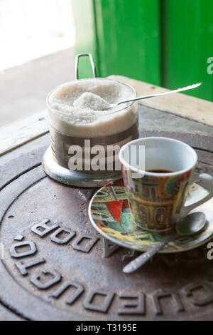 Cuban Coffee Cafe Cubano - Stock Photo