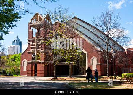 Martin Luther King national Historic Site, Visitor Center, - Stock Photo