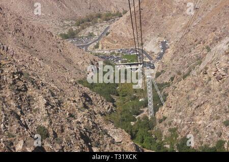 Aerial Tramway - Stock Photo