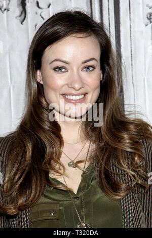 New York, USA. 17 Apr, 2015.  Olivia Wilde at The AOL Speaker Series, discussing the film 'Meadowland' at AOL Studios on April 17, 2015 in New York, NY . Credit: Steve Mack/S.D. Mack Pictures/Alamy - Stock Photo