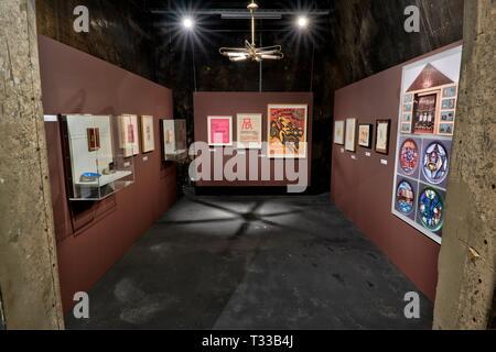 Im Rahmen von 100 Jahren Bauhaus findet vom 8.4.2019 bis 5.1.2020 auf dem Weltkulturerbe Zollverein in Essen im dort beheimateten Ruhrlandmuseum die A - Stock Photo