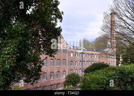 Quarry Bank Cotton Mill - Stock Photo