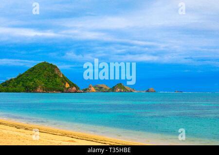 Mandalika Beach, Lombok, Indonesia - Stock Photo