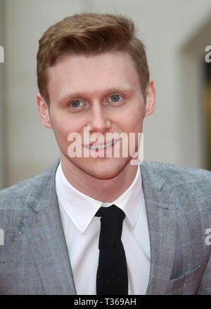 Jan 22, 2016 - London, England, UK - The Sun Military Awards, Guildhall - Red Carpet Arrivals Photo Shows: Jamie Borthwick - Stock Photo