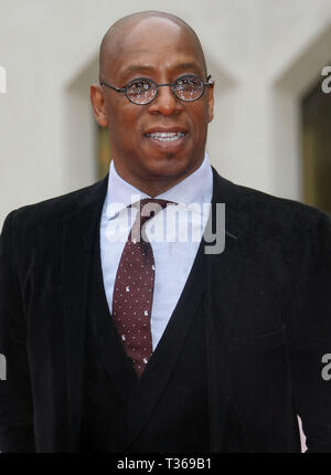 Jan 22, 2016 - London, England, UK - The Sun Military Awards, Guildhall - Red Carpet Arrivals Photo Shows: Ian Wright - Stock Photo