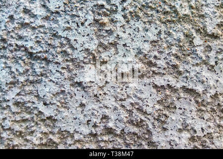 The surface of the concrete wall. The fence of the industrial area. Fence - Stock Photo