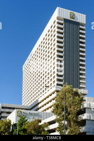 Pan Pacific Hotel, Perth, Western Australia - Stock Photo