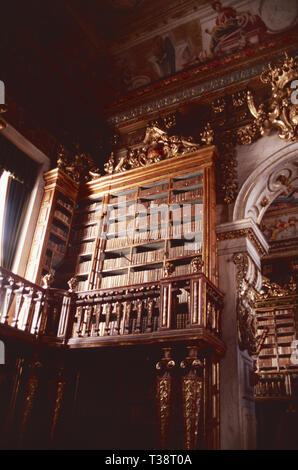 Joanine Library,University of Coimbra,Portugal - Stock Photo