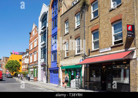 Bermondsey Street, Bermondsey, Royal Borough of Southwark, Greater London, England, United Kingdom - Stock Photo