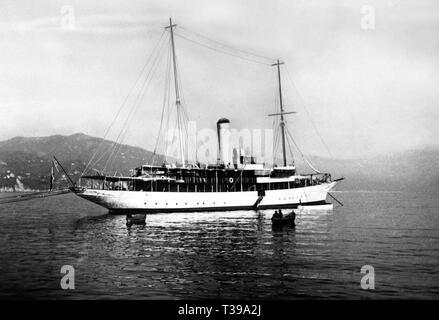 elettra marconi ship, 1936 Stock Photo