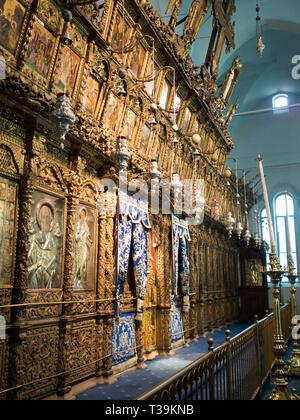 Templon of the Church of Panagia Faneromeni, Nicosia - Stock Photo
