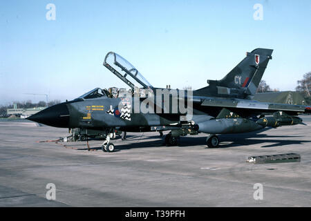 RAF ROYAL AIR FORCE Panavia Tornado GR4 - Stock Photo