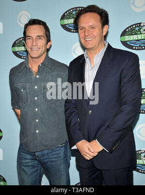 Jeff Prost   Mark Burnett    - Survivor 10 Year Anniversary Party on the CBS Lot in Los Angeles.Jeff Prost   Mark Burnett  11  Event in Hollywood Life - California, Red Carpet Event, USA, Film Industry, Celebrities, Photography, Bestof, Arts Culture and Entertainment, Topix Celebrities fashion, Best of, Hollywood Life, Event in Hollywood Life - California, Red Carpet and backstage, movie celebrities, TV celebrities, Music celebrities, Topix, actors from the same movie, cast and co star together.  inquiry tsuni@Gamma-USA.com, Credit Tsuni / USA, 2010 - Group, TV and movie cast - Stock Photo