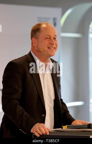 Dortmund, Germany  8th Apr, 2019  JOACHIM STAMP Minister for