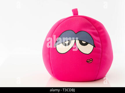 Zen ball and relaxing, halloween character - Stock Photo