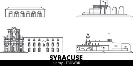 Sicily Landmarks Gallery |Sicily Landmark Silhouette