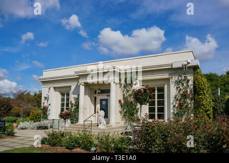 Los Angeles, APR 5: The Tea Room of Huntington Library on APR 5, 2019 at Los Angeles, California - Stock Photo