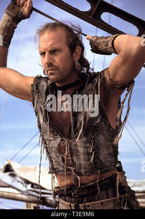 WATERWORLD 1995 Universal Pictures film with Kevin Costner - Stock Photo
