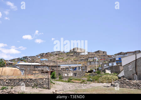 Azerbaijan, Khimalig village - Stock Photo