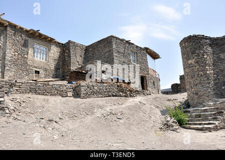 Azerbaijan, Khimalig village - Stock Photo