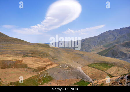Azerbaijan, Khimalig, landscape - Stock Photo