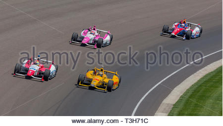 Turn Three at the Indy 500 Motor Speedway in Indianapolis Indiana USA-Image 7 - Stock Photo
