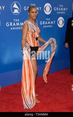 LOS ANGELES, CA. February 27, 2002: Singer EVE at the 2002 Grammy Awards in Los Angeles. - Stock Photo