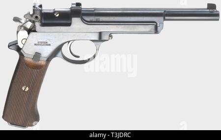 A Mannlicher mod  1905, calibre 7 65 Mannlicher, no  2319