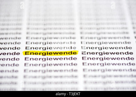 Energiewende - Stock Photo