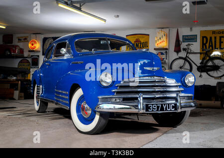1946 Chevrolet, Classic American car - Stock Photo