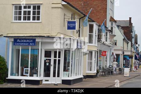 Aldeburgh Contemporary Arts, High Street, Aldeburgh, Suffolk, UK - Stock Photo