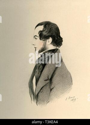 'J Home Purves', 1838. DELETE - duplicate Creator: Richard James Lane. - Stock Photo