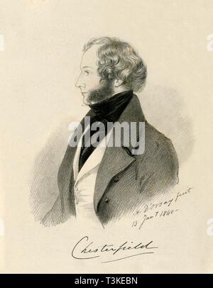 'Chesterfield', 1840.  Creator: Richard James Lane. - Stock Photo