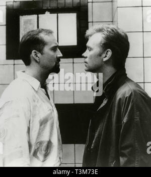 Nicholas Cage and David Caruso in the movie Kiss of Death, 1995 - Stock Photo