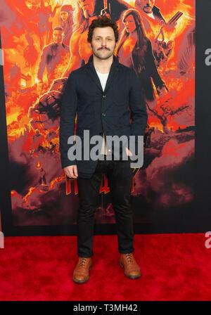 New York, USA. 09th Apr, 2019. Daniel Sauli attends the Hellboy New York Screening at AMC Lincoln Square Theater Credit: Lev Radin/Pacific Press/Alamy Live News - Stock Photo