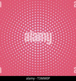 Halftone circular dot pattern background - abstract vector design - Stock Photo