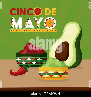 mexico cinco de mayo - Stock Photo