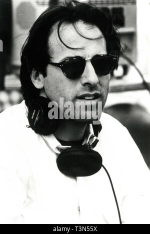 Director David O. Russell on the set of the movie Flirting with Disaster, 1996 - Stock Photo