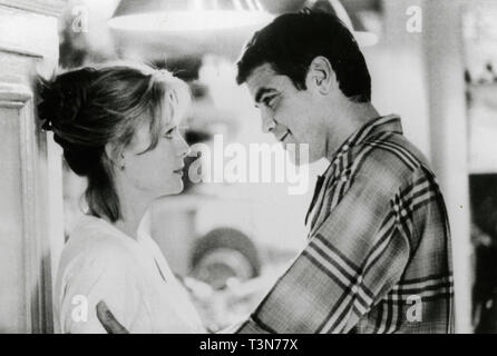 Michelle Pfeiffer and George Clooney in the movie One Fine Day, 1996 - Stock Photo