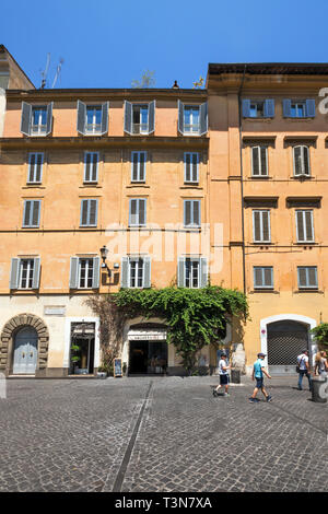 ROME, ITALY - JUNE 23, 2017: Amazing view of Piazza di Pietra  in city of Rome, Italy - Stock Photo