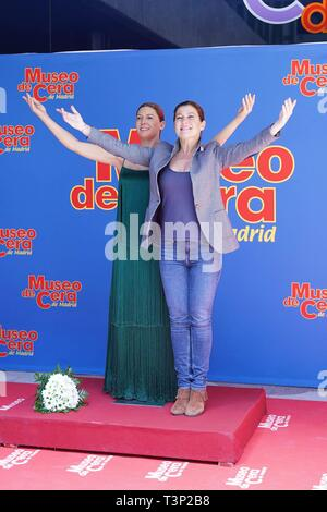 Madrid, Spain. 11th Apr, 2019. Sara Baras attends the tribute at the wax museum in Madrid, April 11, 2019 Credit: CORDON PRESS/Alamy Live News - Stock Photo