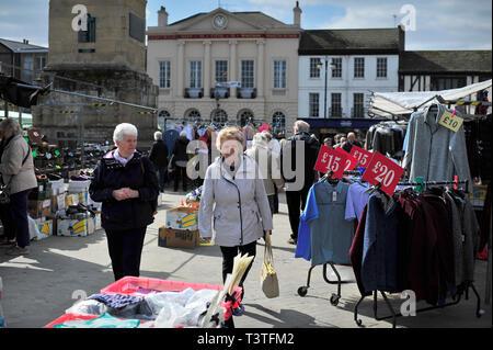 Ripon Market North Yorkshire England UK - Stock Photo